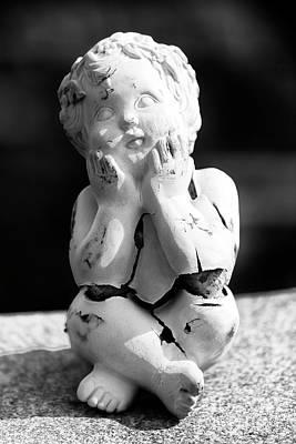 Photograph - Oh My Cherub by John Rizzuto
