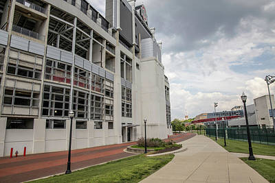 Photograph - Ohio Stadium And Lights  by John McGraw