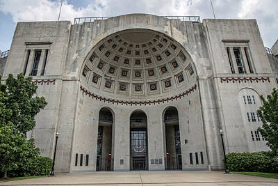Sports Royalty-Free and Rights-Managed Images - Ohio Stadium at The Ohio State University by John McGraw