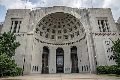 Photograph - Ohio Stadium At The Ohio State University by John McGraw