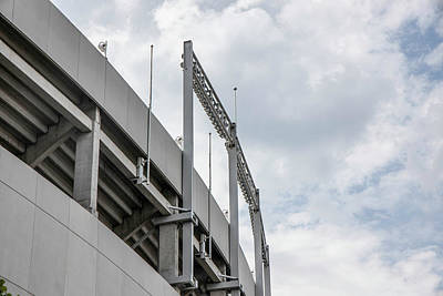 Photograph - Ohio Stadium Lights  by John McGraw