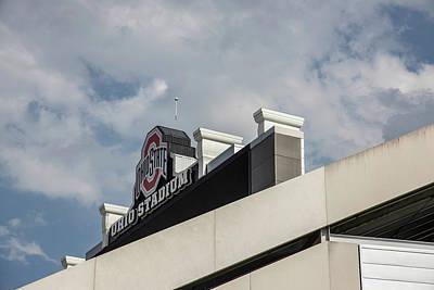 Photograph - Ohio Stadium Scoreboard  by John McGraw