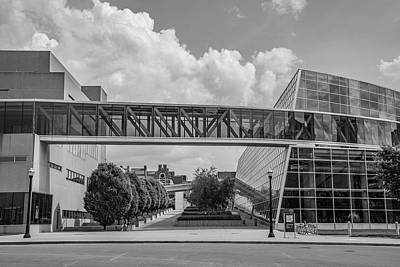 Photograph - Ohio State University Black And White 16 by John McGraw