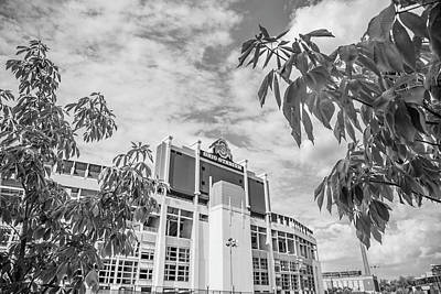 Photograph - Ohio State University Black And White 32 by John McGraw