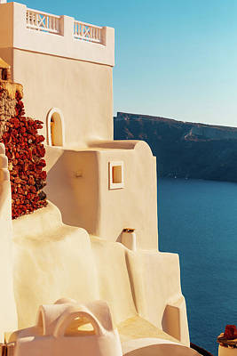 Photograph - Oia In Santorini, Greece by Deimagine