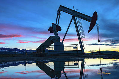Photograph - Oilfield by Dan McGeorge