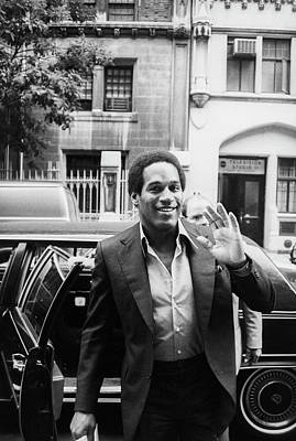 Photograph - O.j. Simpson by Art Zelin