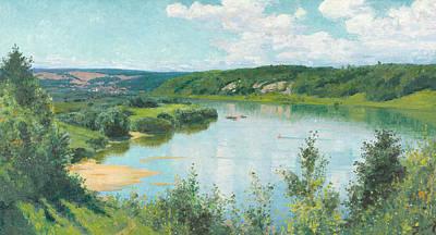 Painting - Oka Summer Day by Vasily Polenov