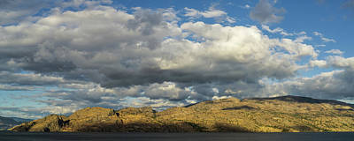 Photograph - Okanagan Mountain Panorama by Dave Matchett