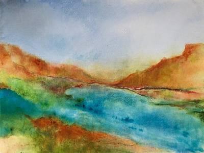 Wall Art - Painting - Okanagan Summer Delight by Jeanne Byron