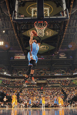 Banker Wall Art - Photograph - Oklahoma City Thunder V Indiana Pacers by Ron Hoskins