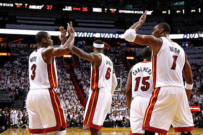 Photograph - Oklahoma City Thunder V Miami Heat - by Mike Ehrmann
