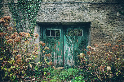 Photograph - Old Aquamarine Door by Asife