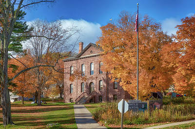 Photograph - Old Bayfield County Courthouse by Susan Rissi Tregoning