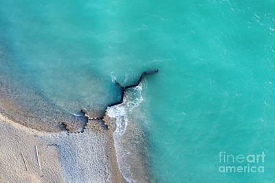 Royalty-Free and Rights-Managed Images - Old Breakwall from Above by Twenty Two North Photography