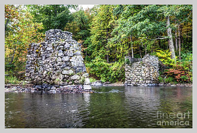 Photograph - Old Bridge Structure by Tom Cameron