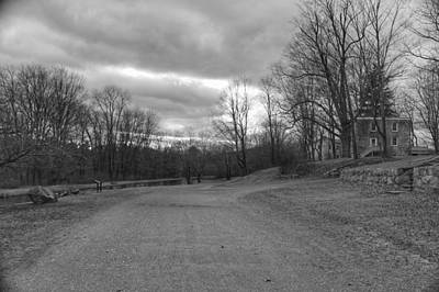 Photograph - Old Canal Road - Waterloo Village by Christopher Lotito