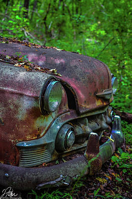 Wall Art - Photograph - Old Car City  2 by James Fisher