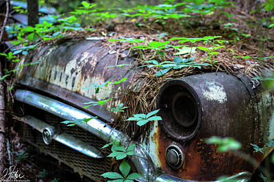 Wall Art - Photograph - Old Car City Buick by James Fisher