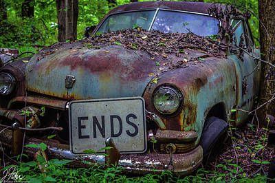 Wall Art - Photograph - Old Car City Ends by James Fisher