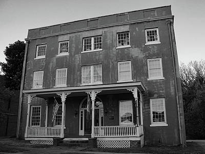 Photograph - Old Chester Jail House 10 B W 1 by Joseph C Hinson Photography