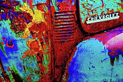 Photograph - Old Chevy Pickup by Bill Jonscher