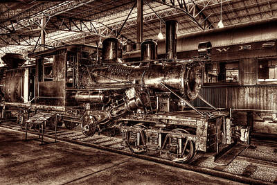 Photograph - Old Climax Engine No 4 by Paul W Faust -  Impressions of Light