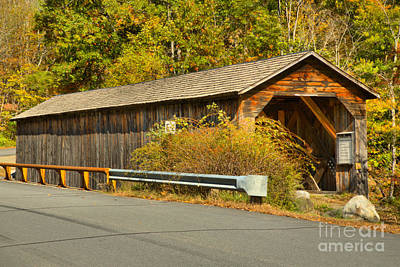 Photograph - Old Cold River Covered Bridge by Adam Jewell
