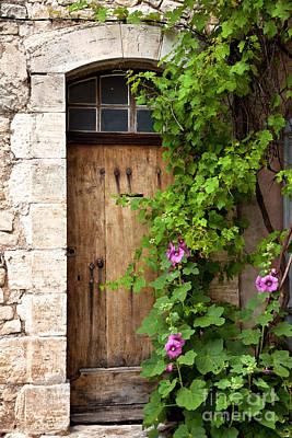 Photograph - Old Door In Sault by Brian Jannsen