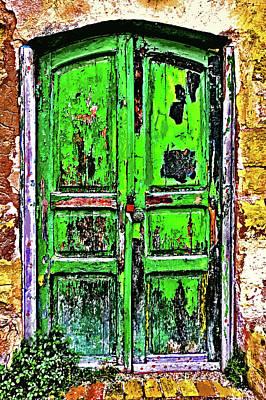 Old Door. In Your Bedroom With No One Home? Original