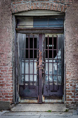 Photograph - Old Door by James Woody