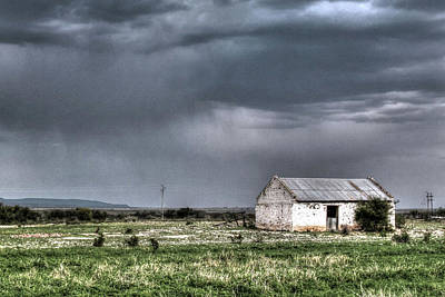 Photograph - Old Farm House by Images Unlimited