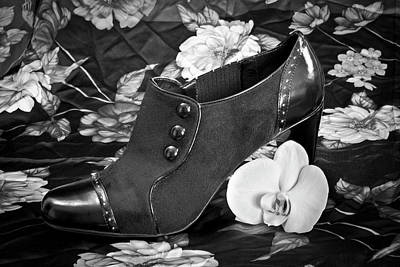 Photograph - Old Fashioned Heeled Boot by Patti Deters