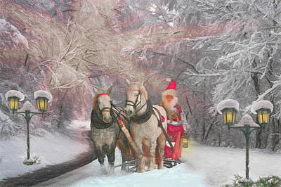 Photograph - Old Fashioned Old Saint Nick  by Debra and Dave Vanderlaan