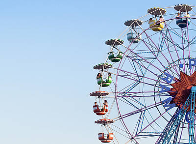 Photograph - Old Ferris Wheel by Mar Merelo