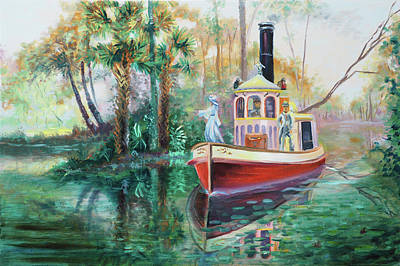 Painting - Old Florida Princess by David Bader