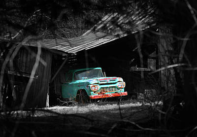 Photograph - Old Ford by Images Unlimited