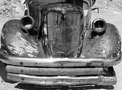 Modern Man Surf - Old Ford Truck by Linda Peglau