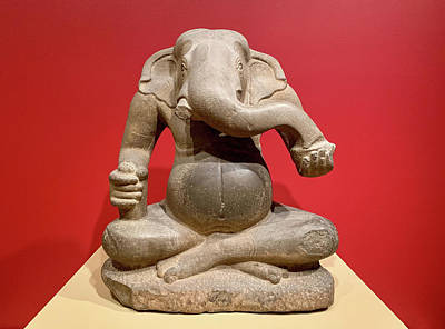 Photograph - Old Ganesha by Marilyn Hunt