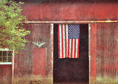 Photograph - Old Glory by JAMART Photography