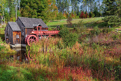 Photograph - Old Grist Mill by Bill Wakeley