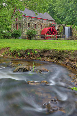 Photograph - Old Grist Mill Museum by Juergen Roth