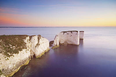 Photograph - Old Harrys Rock, Dorset Uk by Ben Pipe Photography