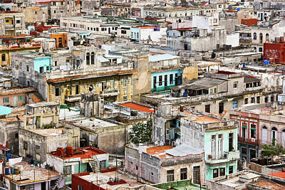 Photograph - Old Havana In Cuba by Gerardo Ricardo López