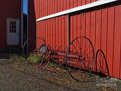 Photograph - Old Hay Rake 2 by Mark Miller