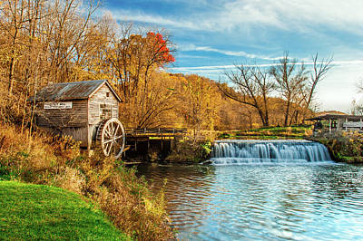 Photograph - Old Hyde Mill by Todd Klassy