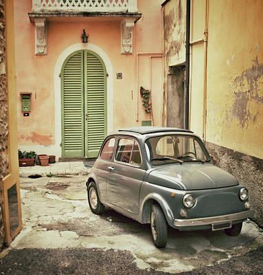 Photograph - Old Italian Car by Seanshot