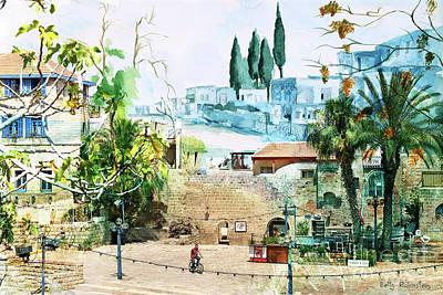 Digital Art - Old Jaffa-7 by Betty Rubinstein