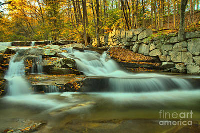 Photograph - Old Jelly Mill Falls Vermont by Adam Jewell