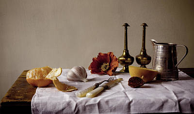 Photograph - Old Kitchen Still Life by Pch